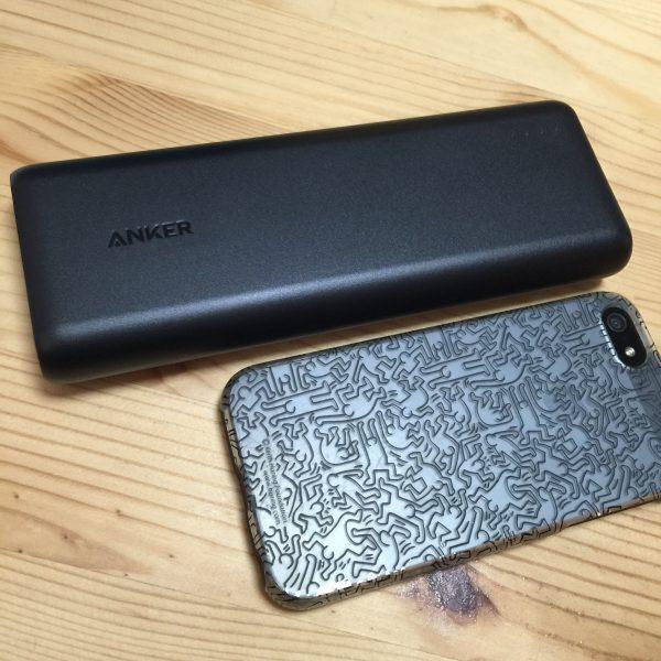 Ankerのモバイルバッテリーのおすすめを買ってみた!のでレビュー!
